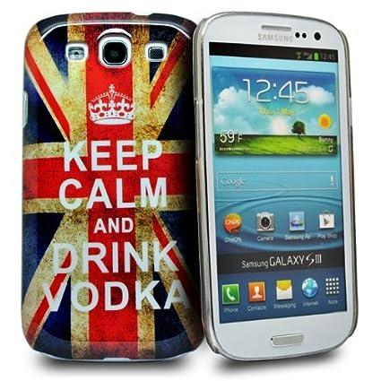 Accessory Master - Carcasa rígida de plástico para Samsung Galaxy S3 i9300, diseño