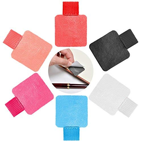 (Traveler's Notebook Pen Holder Pen Loop Adhesive with Elastic Band For Tablet, Journals, Clipboards 6 Colors)