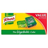 Knorr Stock Cubes Vegetable (20x10g) - Pack of 6