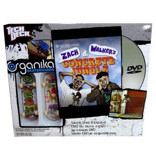 - Tech Deck Skate Shop DVD Organika Zach & Walkers