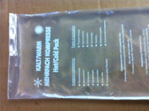 Cold Hot Pack frío – Compresa y calor 120 x 290 mm 2 Unidades Gel es Transparente: Amazon.es: Jardín