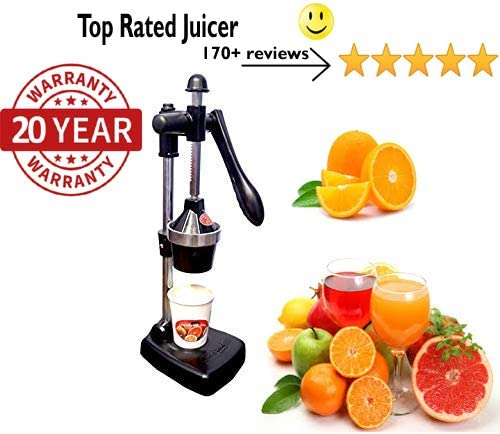 6. CHEFWARE Aluminium Hand Press Citrus Juicer
