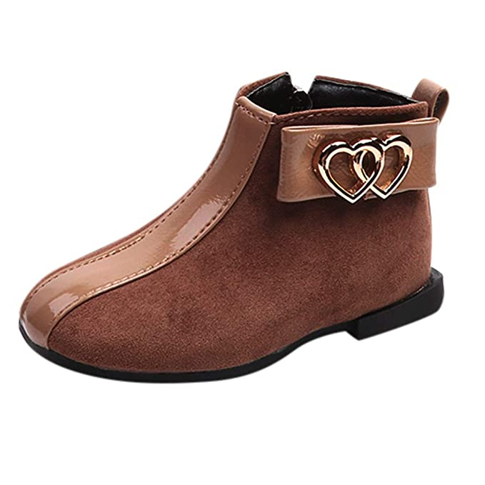 : Lurryly❤Boots for Girls Baby Children Warm