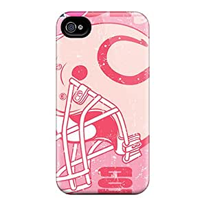 DannyLCHEUNG Iphone 4/4s Durable Hard Cell-phone Case Customized Vivid Indianapolis Colts Pattern [lam15596UtCp]