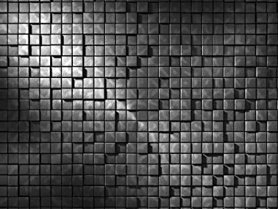 10.5-Feet wide by 8-Feet high. Prepasted robust wallpaper full wall size mural from a photo of: 3-D Cubes. 3D optical illusion.Easy to install remove and reuse If U do as in our video