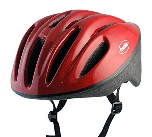 Classic Bike Helmet with Black Foam, Includes Bonus Weatherproof Vinyl Permanent Adhesive Reflector Sticker, Different Sizes (Viking Helmut)