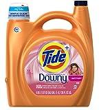 Tide Plus HE Downy Liquid Laundry Detergent, April Fresh, 138 Oz