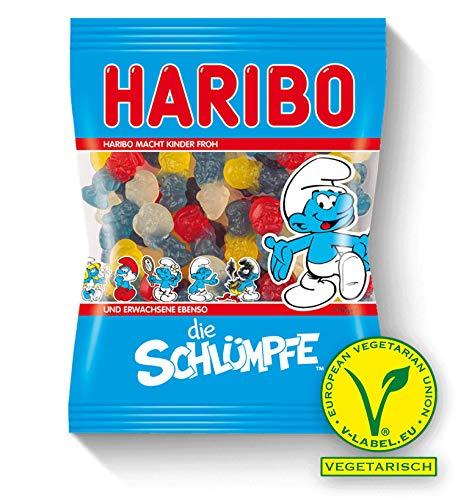 Haribo The Smurfs Soft Gummy Candies Original from Germany 200g/7.05oz
