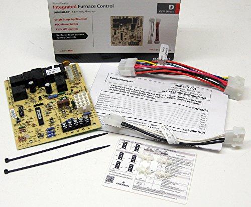 White Rodgers 50M56U-801 Lennox Furnace Control Kit for S...