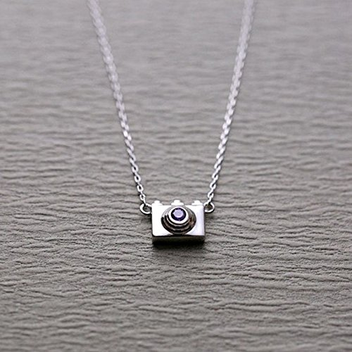 (UltraSunday 925 Silver Retro Camera Charm Pendants & Necklaces for Women Jewelry Necklace )