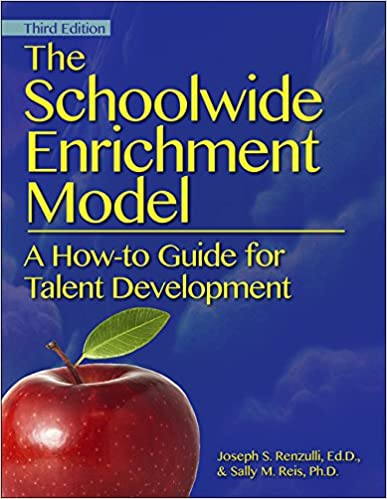 Book cover for: The Schoolwide Enrichment Model by Joseph S. Renzulli, EdD, and Sally M. Reis, Ph.D.