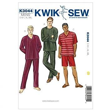 Kwik Sew Schnittmuster 3044 Wear Herren-Schlafanzug O/S): Amazon.de ...