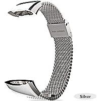 Rejoicing Gioia in Acciaio Inox Smart Watch Band Braccialetto in Metallo Orologio da Polso, per Huawei Honor 3Band Smart Watch Accessori