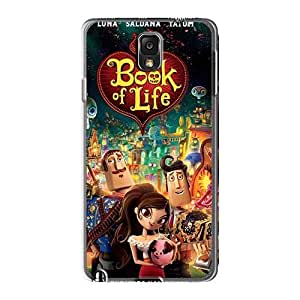 Protector Hard Cell-phone Cases For Samsung Galaxy Note3 With Customized HD Cartoon Movie 2014 Pattern JamieBratt
