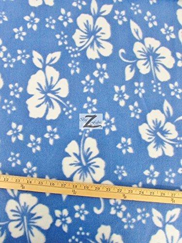 Hibiscus Print Fabric - 3