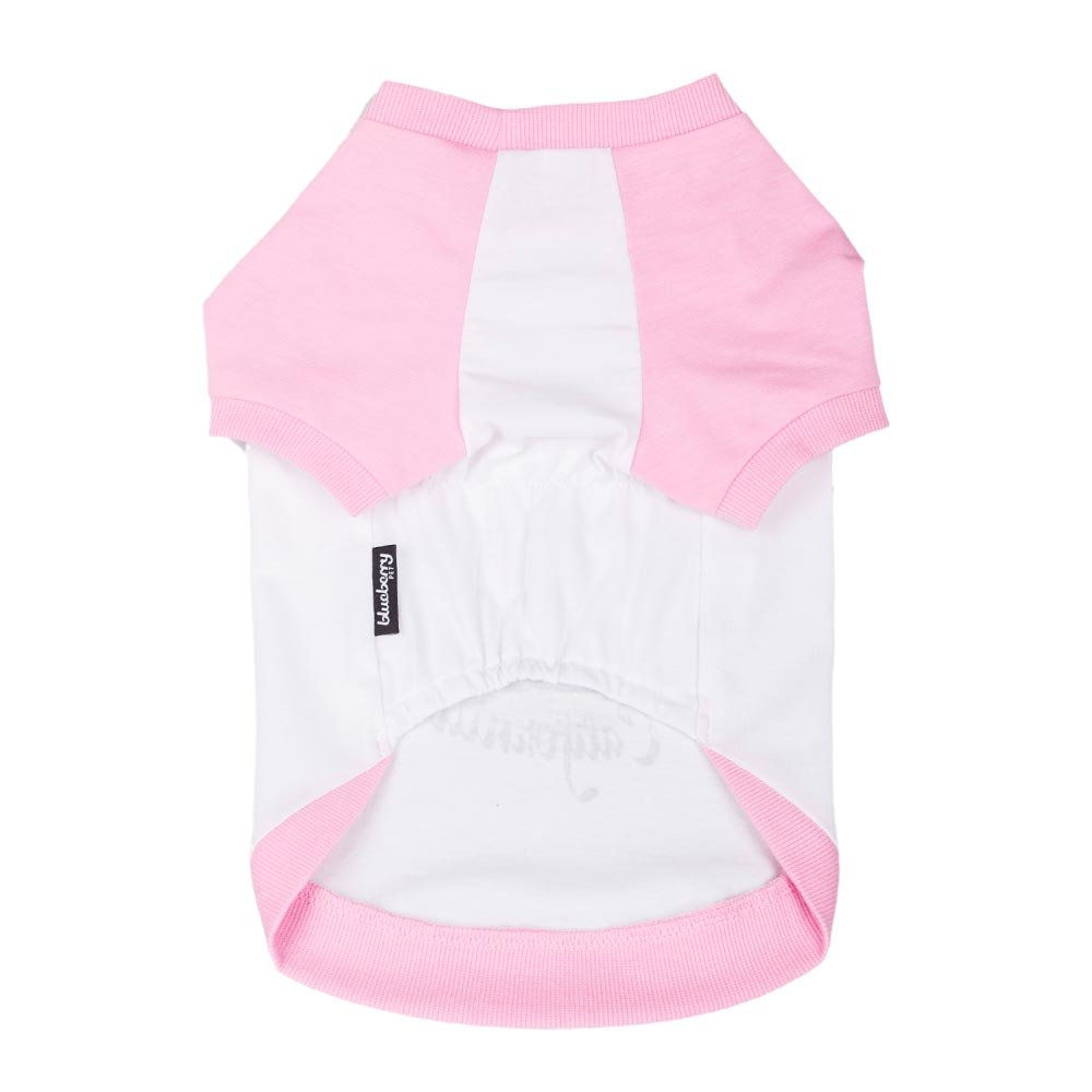 Blueberry Pet Pack of 2 Soft /& Comfy Terry Cotton Spring Pink Wonderland Designer Sleep /& Play Dog Pajamas /& Tank Top T Shirt Back Length 12//30cm Clothes for Dogs