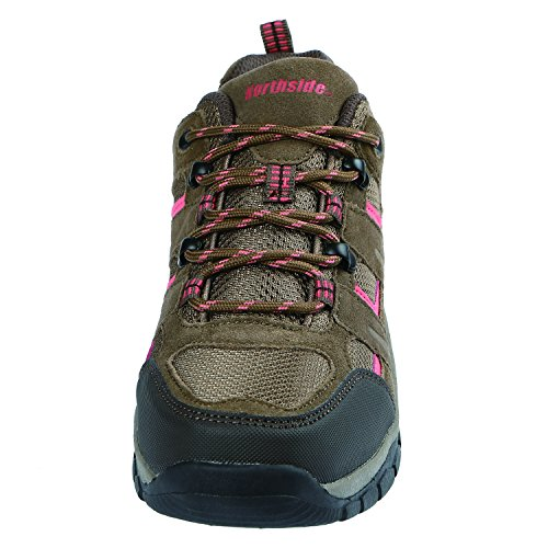 Pictures of Northside Women's Monroe Low Hiking Shoe Dk Gray/Dk Turquoise 5