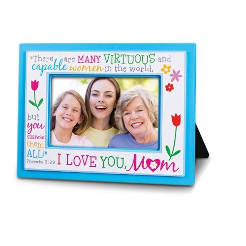Amazoncom Lcp Gifts I Love You Mom Photo Frame Proverbs 3129