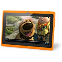 Vuru JR. 8GB 7 Tablet, Android Jellybean 4.1, Dual Camera, 3G Capable, Dual Core 1.2 GHz- Orange