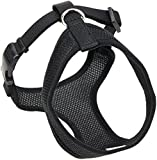 Coastal  Comfort Soft Adjustable Dog Dog Harness - Black Small For Dogs 11-18 lbs