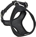 Coastal  Comfort Soft Adjustable Dog Dog Harness - Black Small For Dogs 11-18 lbs