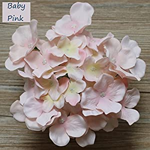 Lily Garden Silk Hydrangea Heads Artificial Flowers 1