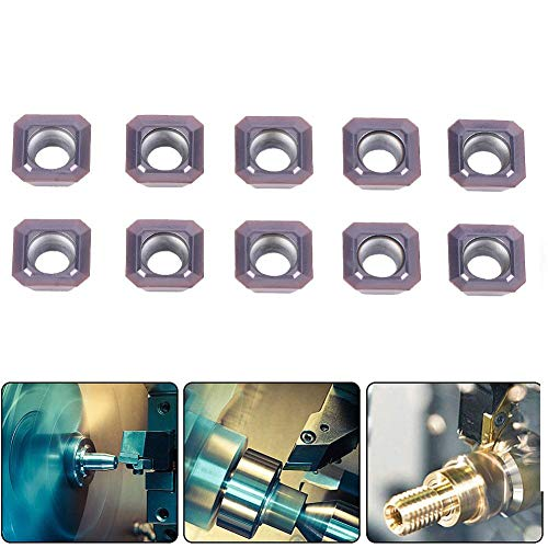 Hartmetalleinsätze, 10 Stück SEHT1204AFSN-X45 PC9035/SEHT43AFSN-X45 Drehwerkzeug für Hartmetalleinsätze