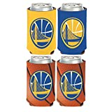 WinCraft NBA Golden State Warriors 2 PACK 12 oz. 2-Sided Can Coolers