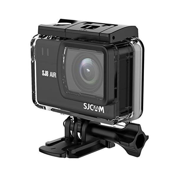RetinaPix SJCAM SJ8 Air 14 MP UHD Touch Screen Action Camera with Dual Microphone