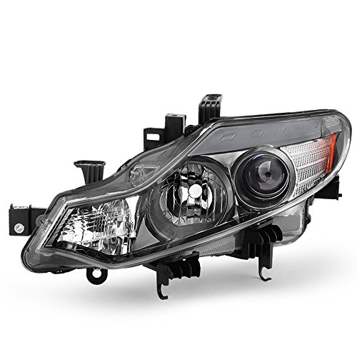 - ACANII - For 2009-2014 Nissan Murano Halogen Model Replacement Headlight Headlamp - Driver Side Only