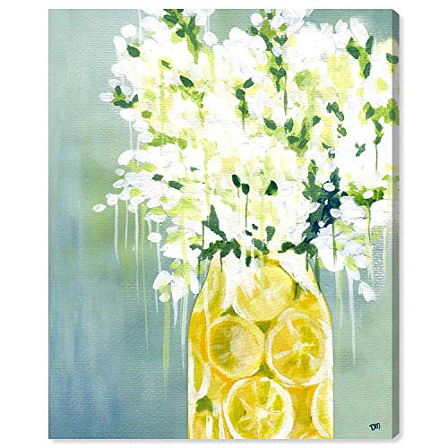 Oliver Gal 'Limoncello' The Floral and Botanical Wall Art Decor Collection Modern Premium Canvas Art Print
