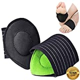 Arch Supports for Plantar Fasciitis,Cushioned Compression Support Sleeves for Plantar Fasciitis Support & Flat Foot Support - Pain Relief - Men & Women