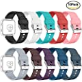 AIUNIT Fitbit Blaze Bands, Fitbit Blaze Watch Replacement Band Accessories Wristband Small Large for Women Men Girls Boys, No Tracker