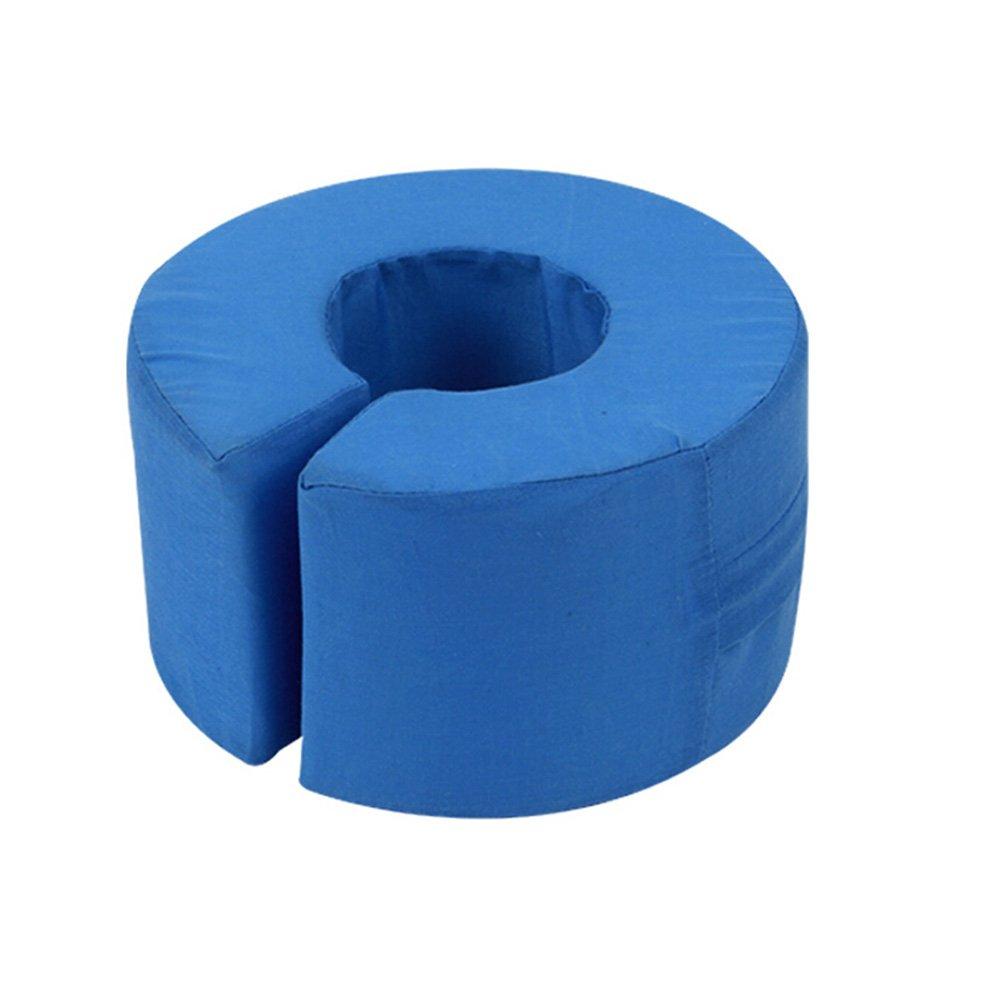 NACHEN Pressure Relief Heel Protector Anti Decubitus Hand and Foot Lift Cushion,Blue,17X10cm