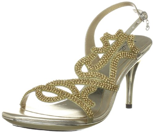 Gold Damen Evening Unze Sandals L18224w Sandalen xpAcPqwf