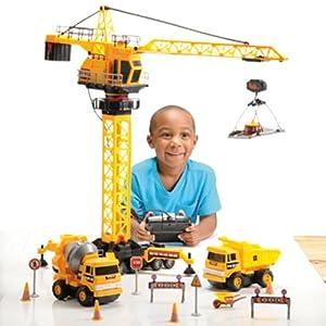 amazoncom construction site with remote control crane