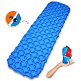 Cheap CampBro Sleeping Pad Lightweight Camping Mat Backpacking – Inflatable Air Mattress with Snap-On to Double The Size