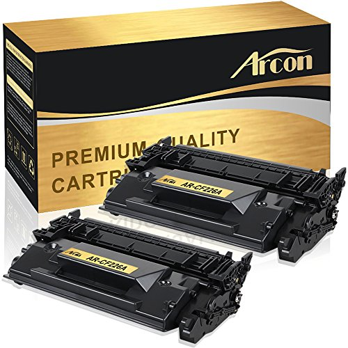 Arcon 2 Packs Compatible for HP 26A CF226A M402n M402dn M402dw Toner Cartridge for HP LaserJet Pro MFP M402n M402dn M402dw M426fdw M426fdn M402d M426dw HP 26X CF226X M402 M426 (Mfp Drum)