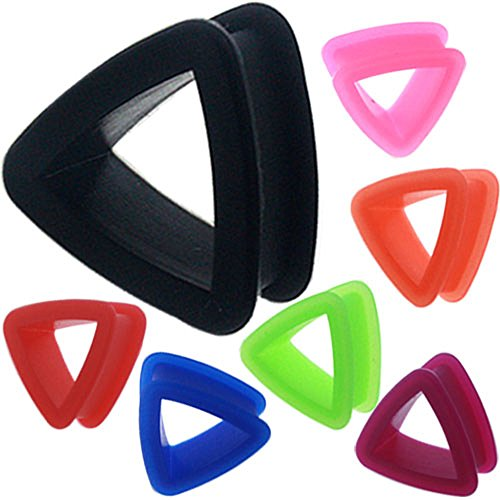 1 inch Gauge Ear Plug Flesh Tunnels Screw Double Flare Expander Stretcher Taper Piercings Plug 1 25mm