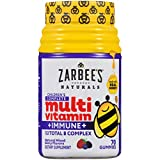 Zarbee's Naturals Children's Complete Multivitamin + Immune* Gummies, Mixed Berry Flavors, 70 Gummies