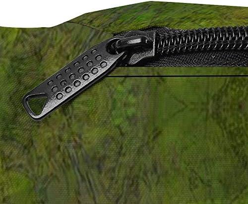 ダークグリーンスプラッシュ ウエストバッグ ショルダーバッグチェストバッグ ヒップバッグ 多機能 防水 軽量 スポーツアウトドアクロスボディバッグユニセックスピクニック小旅行