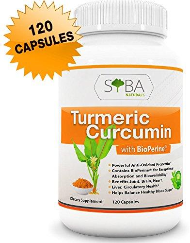 Premium Turmeric Curcumin Bioperine Supplements