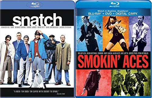 Snatch & Smoking' Aces [Blu-ray] Bundle Double feature Crime Set