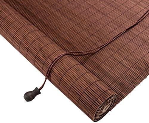 ZHWNGXO 和風の家を遮光中国の竹のカーテンシャッターカーテンウォールパネルカーテンバルコニーはリフトをカスタマイズすることができます (Size : Long100 x wide120)