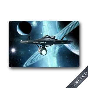 Amazon Com Custom Star Trek Enterprise Doormat Door