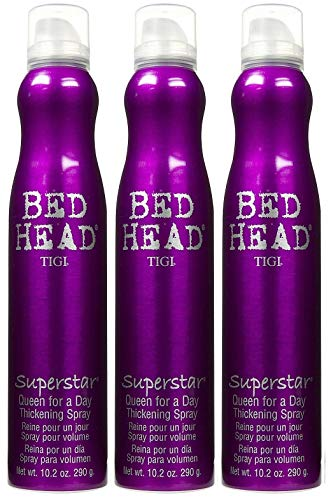 3 Pack Bed Head Superstar Queen for a Day Thickening Spray 10.2 oz