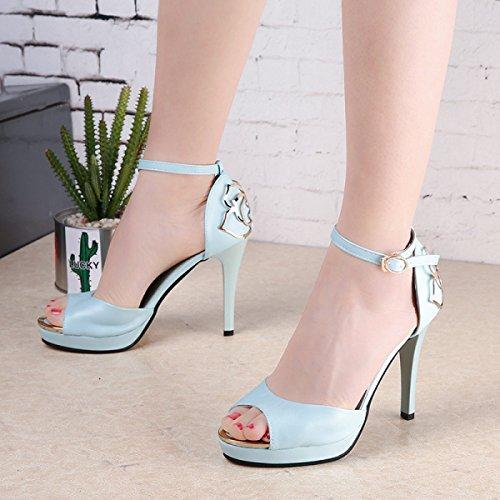 Alto Para De Mujer Tacón Grrong Verano 85Off Zapatos Nuevas ZuTOXPklwi