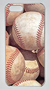 Soil Baseballs DIY Hard Shell Transparent iphone 5/5s Case Perfect By Custom Service