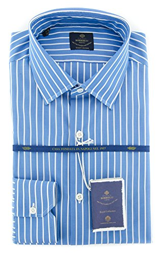 new-luigi-borrelli-blue-striped-extra-slim-shirt