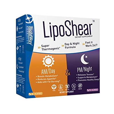 RightWay Nutrition Liposhear Capsules, 60 Count